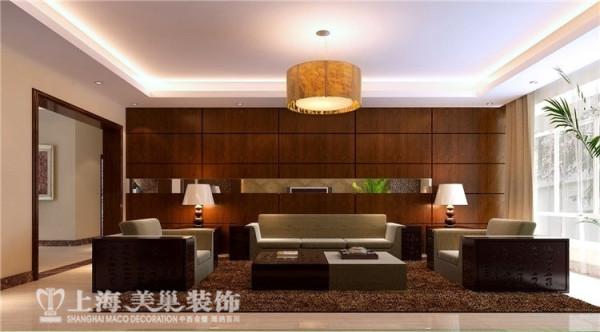 丰庆华府142平三室两厅现代简约客厅沙发背景墙布局装修样板间