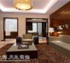 丰庆华府142平三室两厅现代简约客餐厅布局装修样板间