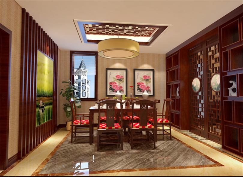 白领 收纳 80后 小资 餐厅图片来自实创装饰完美家装在凤凰城四期200平新古典风格案例的分享