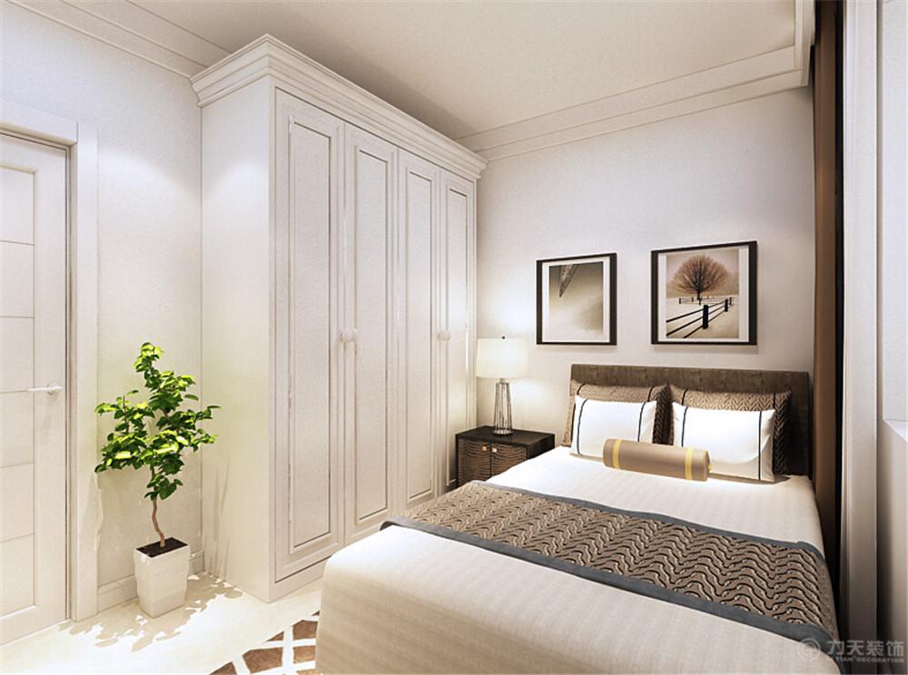 简约 三居 收纳 旧房改造 80后 小资 卧室图片来自阳光力天装饰糖宝儿在现代时尚 | 嘉阳花苑 108㎡三居的分享