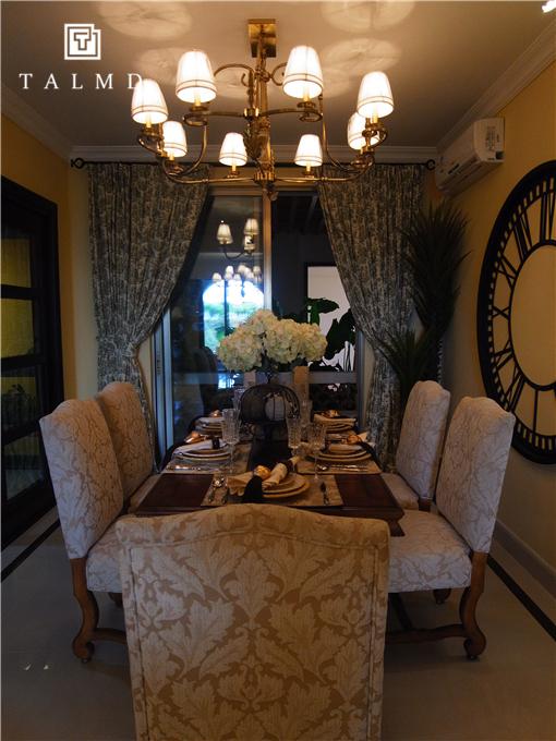 两居室 休闲美式 高端家具 餐厅图片来自TALMD图迈家居在【TALMD案例】美式风格·红树湾的分享