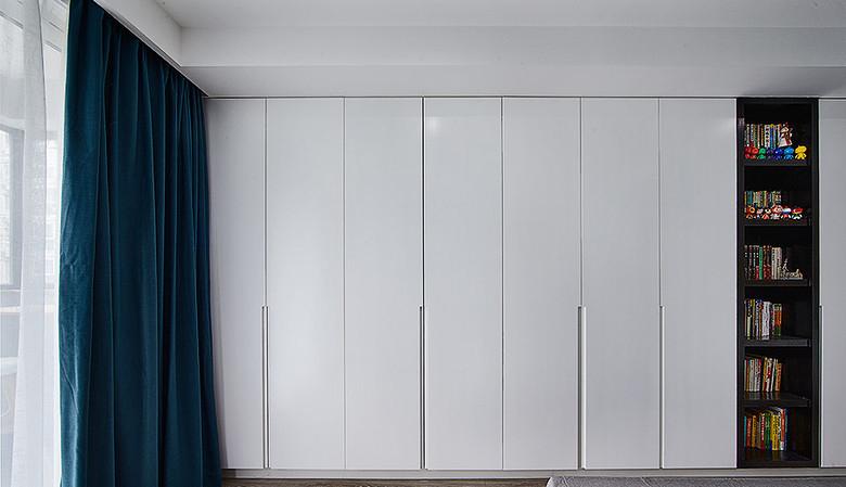 卧室图片来自家装大管家在温馨明朗140平现代北欧4居室的分享
