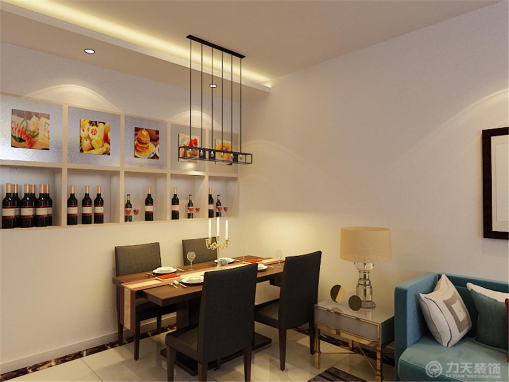 二居 80后 小资 白领 餐厅图片来自阳光放扉er在力天装饰-华城领秀93㎡的分享
