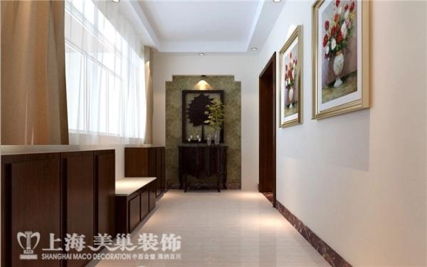 丰庆华府142平三室两厅现代简约门厅装修样板间