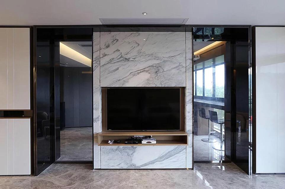 简约 二居 三居 134平米 亚泰津澜 客厅图片来自天津荣欣弘馆工程有限公司在亚泰津澜134平米后现代风格装修的分享