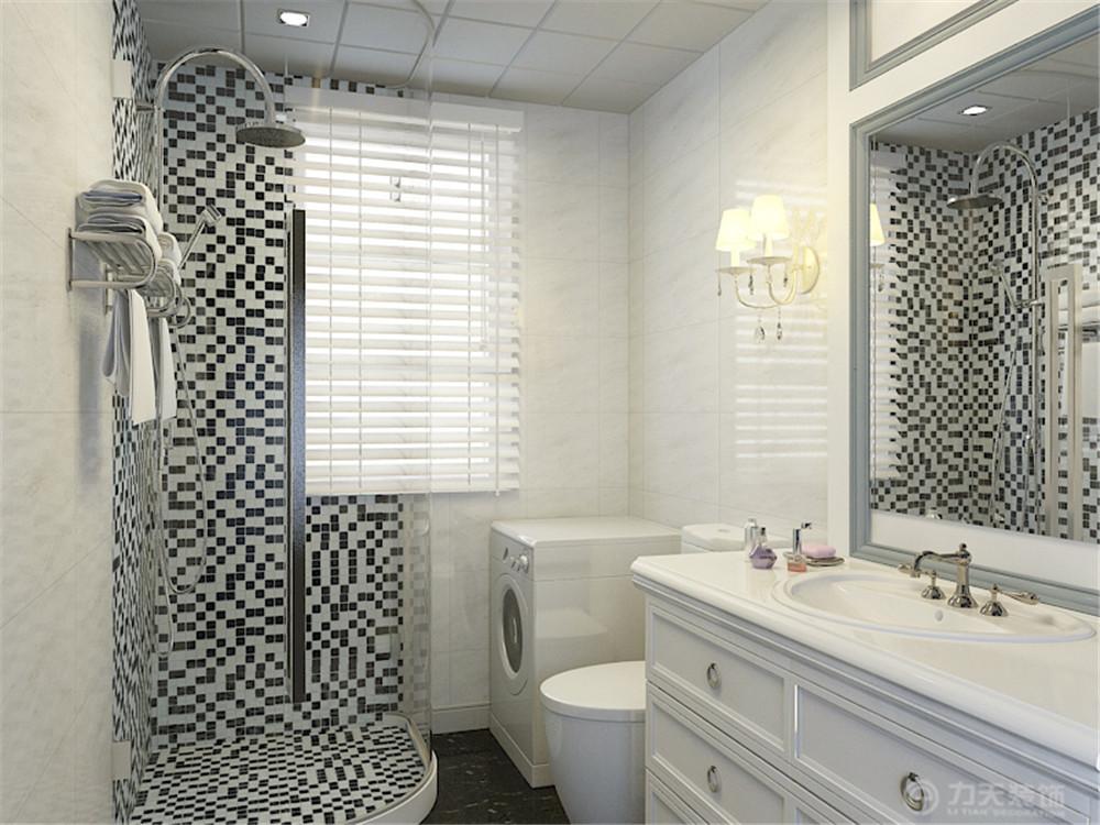 二居 80后 小资 欧式 卫生间图片来自阳光放扉er在力天装饰-远洋城82㎡的分享