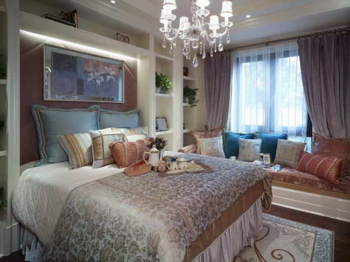 小资 白领 卧室图片来自武汉豪迪装饰公司在尚湖熙园 东南亚风格美房的分享