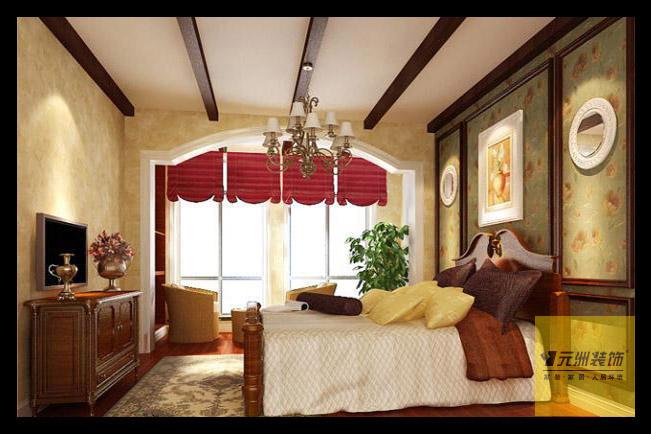 简欧 元洲装饰 复式装修 复式设计 元洲 卧室图片来自元洲装饰-江薇在旭辉御府的分享