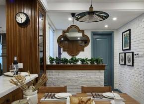 混搭 三居 舒适 实木 玄关图片来自佰辰生活装饰在将混搭进行到底 100平超美空间的分享
