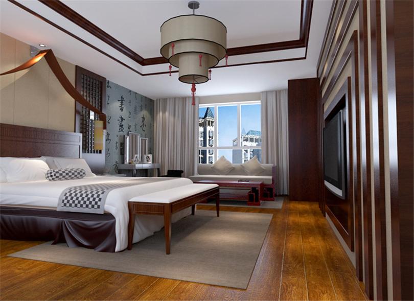 白领 收纳 80后 小资 卧室图片来自实创装饰完美家装在凤凰城四期200平新古典风格案例的分享