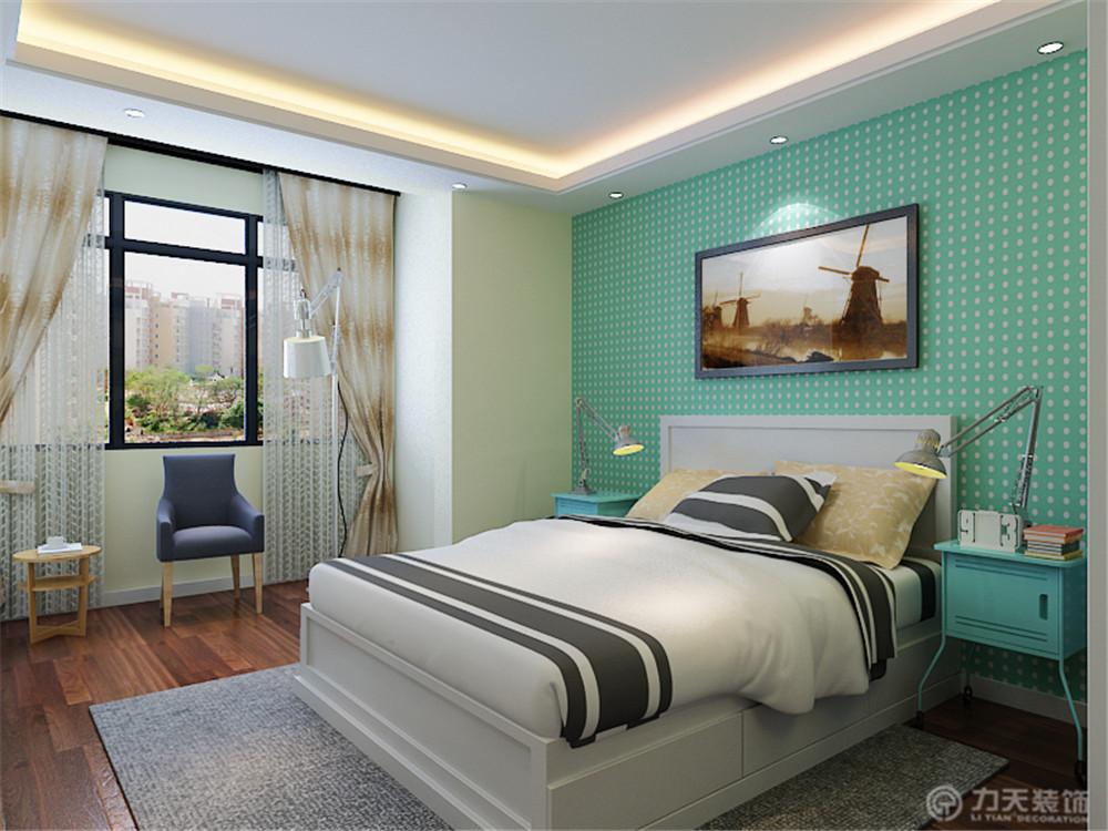 二居 80后 小资 白领 卧室图片来自阳光放扉er在力天装饰-华城领秀93㎡的分享