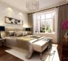 卧室的床头可以搭配自己喜欢的壁画,这样会让自己的心情得到极大的放松,使进入这间房子的人亲和的感觉。