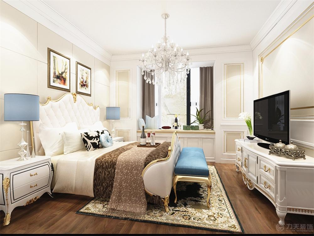 三居 美式 卧室图片来自阳光力天装饰梦想家更爱家在富力尚悦居   美式风格的分享