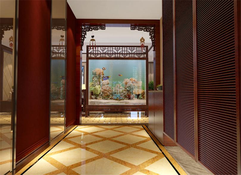 白领 收纳 80后 小资 玄关图片来自实创装饰完美家装在凤凰城四期200平新古典风格案例的分享