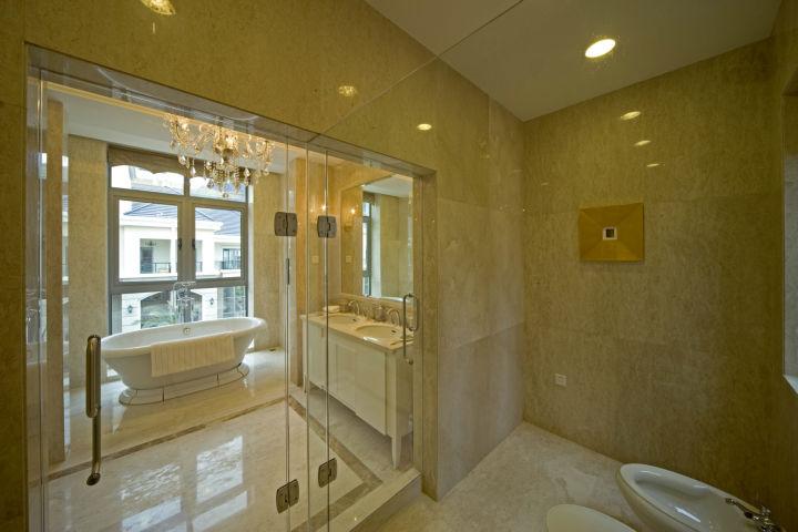 龙城一号 280平米 古典欧式 别墅 卫生间图片来自cdxblzs在龙城一号 280平米 古典欧式 别墅的分享