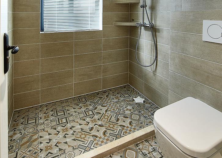 简约 欧式 三居 阳光房 卫生间图片来自佰辰生活装饰在舒适阳光房 140平北欧简约风的分享
