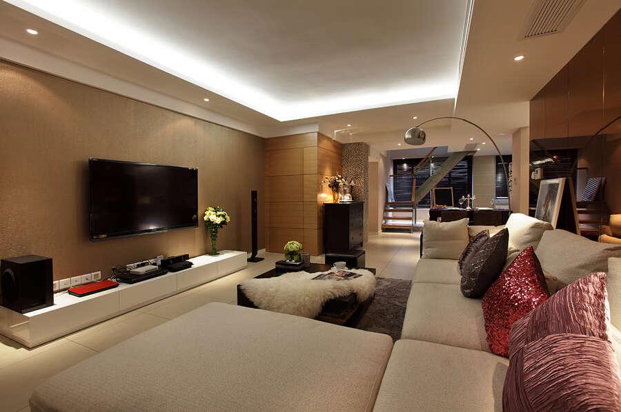 简约 欧式 混搭 四居室 百花花园 80后 小资 客厅图片来自成都V2装饰在保利百合花园现代风格的分享