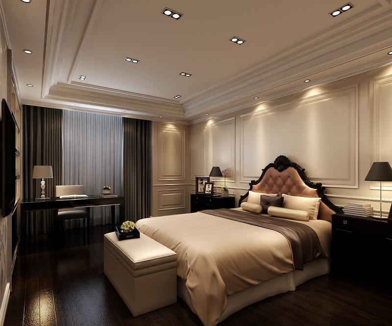 卧室图片来自元洲装饰-江薇在旭辉御府1的分享
