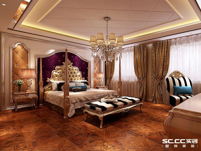 卧室图片来自用户2652703143在滨河绿苑300平别墅欧式风格设计的分享