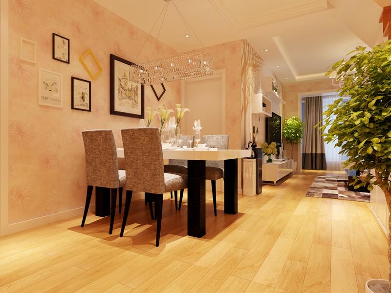 别墅 简约 80后 餐厅图片来自快乐彩在喜山150平现代简约装修设计的分享