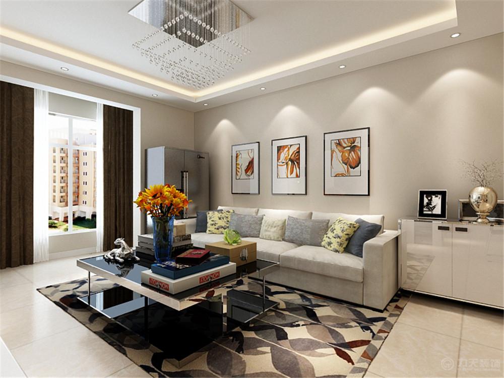 简约 三居 收纳 白领 80后 小资 客厅图片来自阳光力天装饰糖宝儿在现代简约| 生态城尚苑 100㎡三居的分享