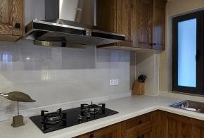 混搭 三居 舒适 实木 厨房图片来自佰辰生活装饰在将混搭进行到底 100平超美空间的分享