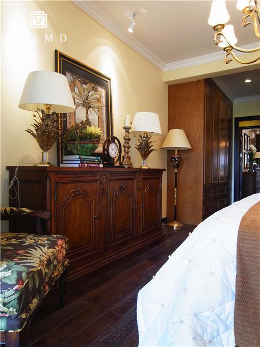 两居室 休闲美式 卧室图片来自TALMD图迈家居在【TALMD案例】美式风格·红树湾的分享