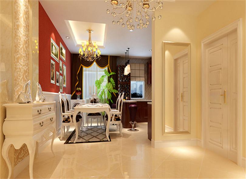 三居 白领 收纳 80后 小资 餐厅图片来自实创装饰完美家装在华贸城140平简欧风格案例赏析的分享