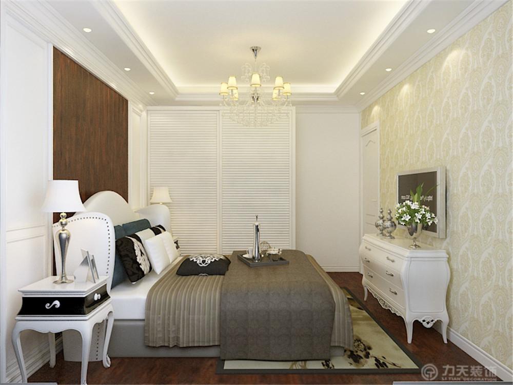 二居 80后 小资 欧式 卧室图片来自阳光放扉er在力天装饰-远洋城82㎡的分享