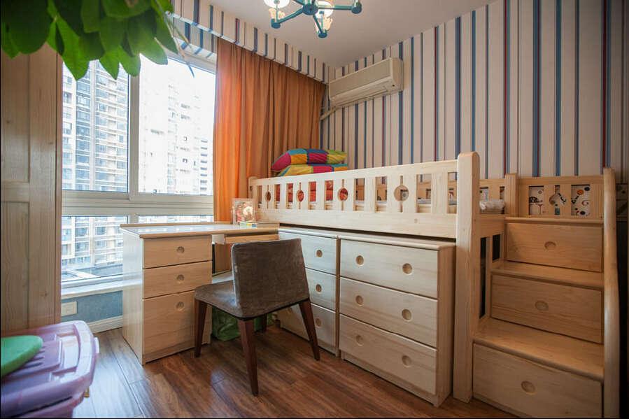 简约 混搭 三居 白领 龙湖三千里 80后 儿童房图片来自成都V2装饰在龙湖三千里现代风格的分享