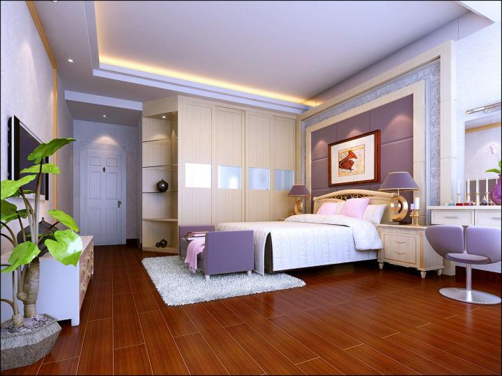 卧室图片来自cdxblzs在中稂祥云 140平米 现代欧式 四室的分享