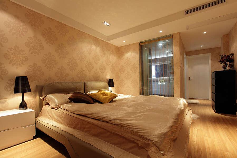 简约 欧式 混搭 四居室 百花花园 80后 小资 卧室图片来自成都V2装饰在保利百合花园现代风格的分享