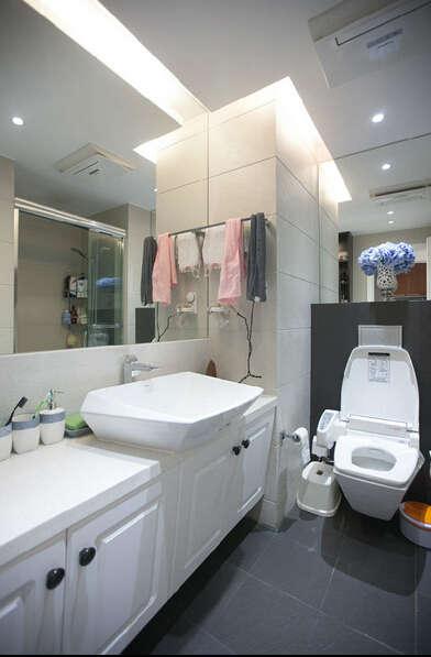 简约 混搭 三居 白领 龙湖三千里 80后 卫生间图片来自成都V2装饰在龙湖三千里现代风格的分享