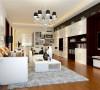 业主为一家五口。设计需求:居住人口较多房屋面积相对较小,希望能合理运用空间。并且业主喜欢时尚氛围。