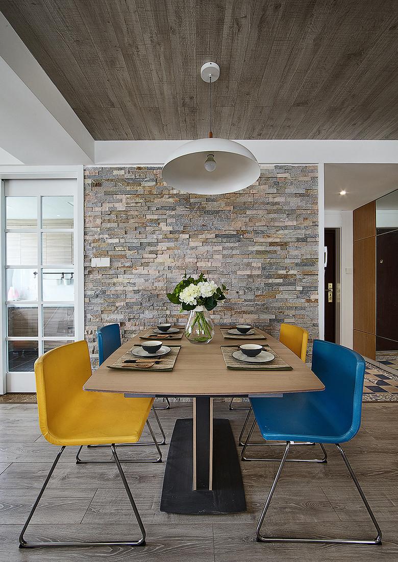 餐厅图片来自家装大管家在温馨明朗140平现代北欧4居室的分享