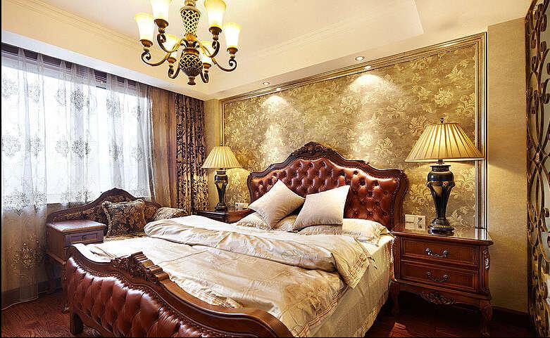 简约 欧式 田园 混搭 四居室 白领 80后 美式 珠江御景湾 卧室图片来自成都V2装饰在珠江御景湾美式风格的分享