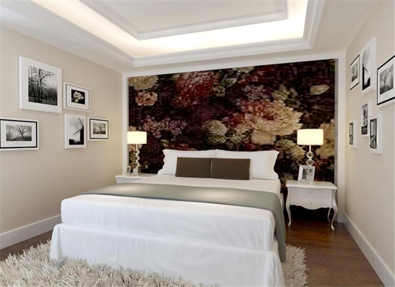 混搭 三居 白领 收纳 旧房改造 小资 80后 卧室图片来自实创装饰完美家装在孔雀城英国宫254平简中风格案例的分享