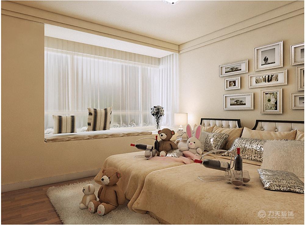 简约 三居 白领 80后 收纳 小资 卧室图片来自阳光力天装饰糖宝儿在现代简约   远洋心境  140㎡三居的分享