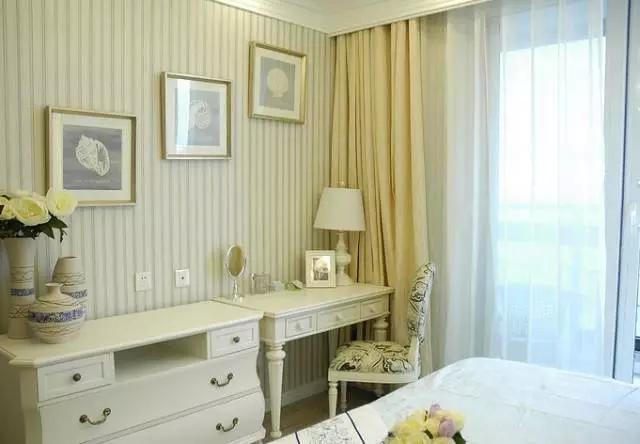 二居 地中海 旧房改造 客厅 卧室 儿童房 书房 餐厅 厨房 卧室图片来自实创装饰晶晶在闵行75平老房小俩居地中海洋风的分享