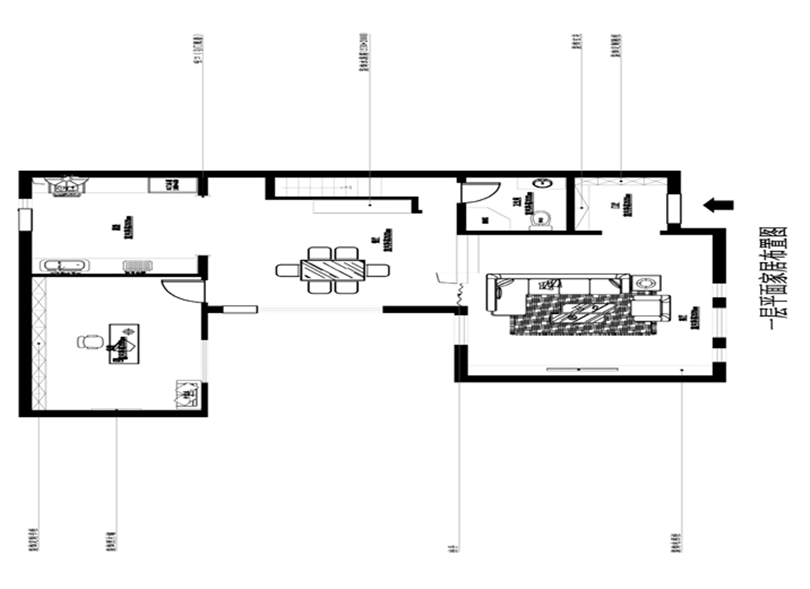 混搭 三居 白领 收纳 旧房改造 小资 80后 户型图图片来自实创装饰完美家装在孔雀城英国宫254平简中风格案例的分享