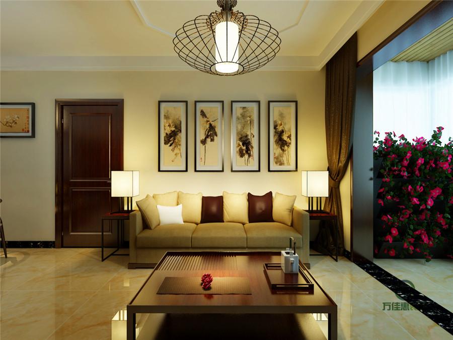 简约 三居 小资 客厅图片来自万泰小宅花在银丰唐郡---现代中式赏析的分享