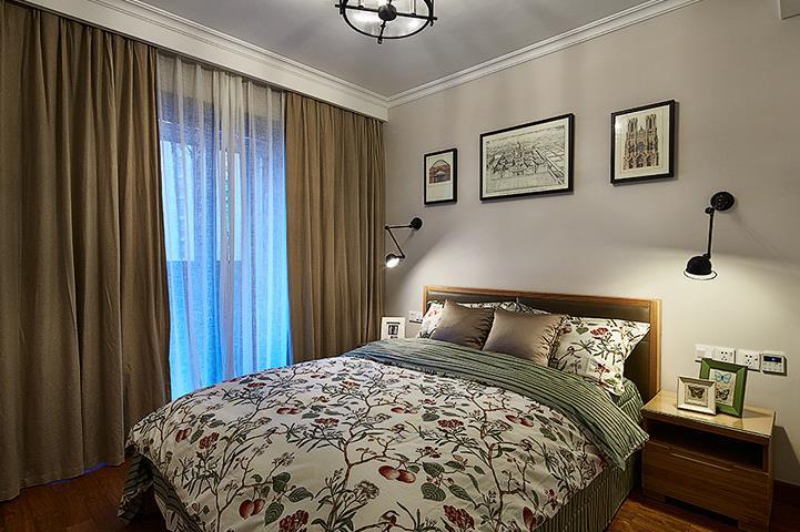 混搭 三居 舒适 实木 卧室图片来自佰辰生活装饰在将混搭进行到底 100平超美空间的分享