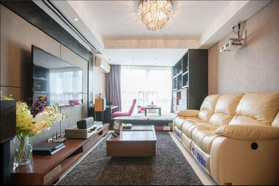 简约 混搭 三居 白领 龙湖三千里 80后 客厅图片来自成都V2装饰在龙湖三千里现代风格的分享
