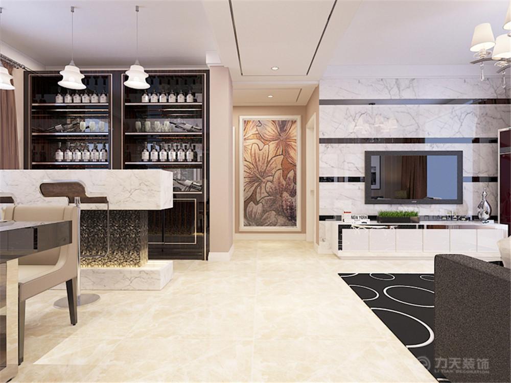 三居 后现代 客厅图片来自阳光力天装饰梦想家更爱家在华润橡树湾  后现代的分享