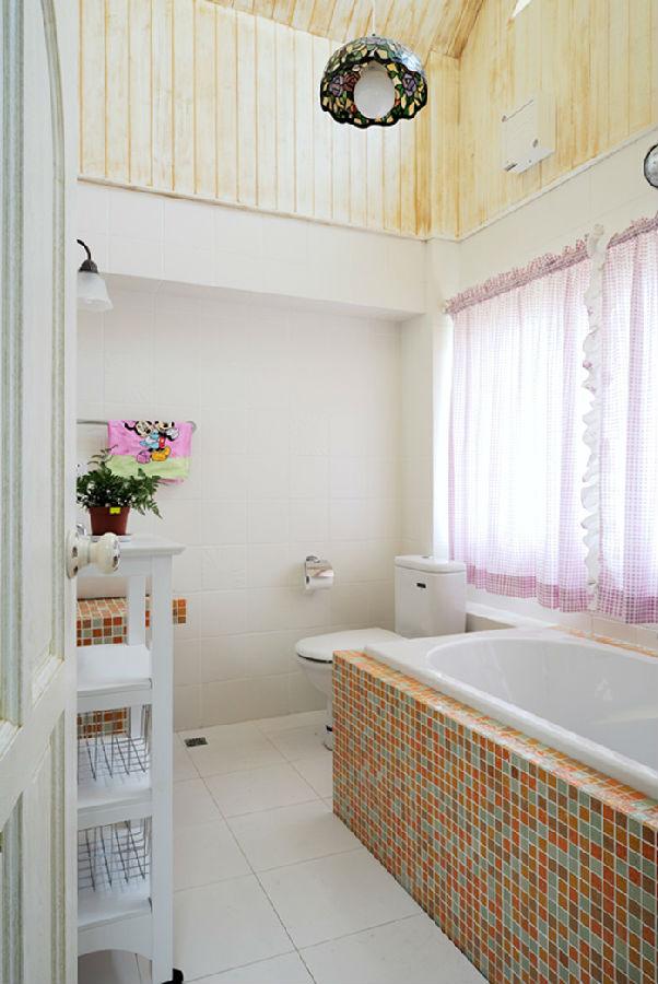 英式田园风 卫生间图片来自北京今朝装饰郭风在亦庄狮城百丽的分享