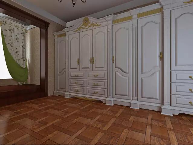 卧室图片来自佳园装饰在安顺220平复式楼新古典主义案列的分享