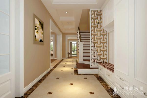 南郊中华园别墅装修现代风格设计方案展示,腾龙别墅设计师成建飞作品,欢迎品鉴!