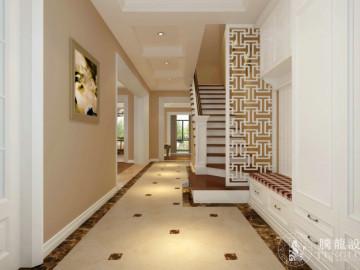 南郊中华园别墅现代风格设计