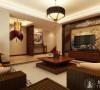 新宏国际300平别墅新中式设计