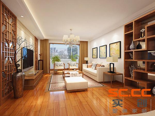 新中式风格,在现代家居中融入了古典中式风格特有的元素,在体现现代家居的同时,烘托出整个居室空间的人文气息,也体现了房屋主人的文化底蕴。